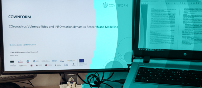 Article COVINFORM_COVINFORM at the COVID-19 2C sister project meeting